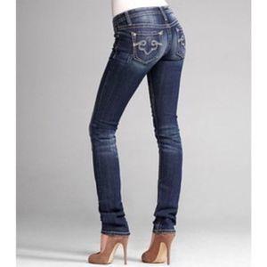 EXPRESS Rerock Skinny Jean with Pocket Detail 2